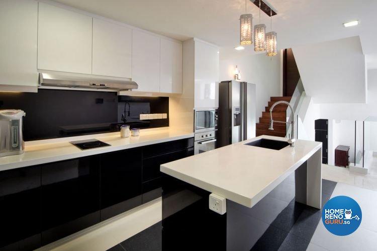 Contemporary, Modern Design - Kitchen - Landed House - Design by HC Interior