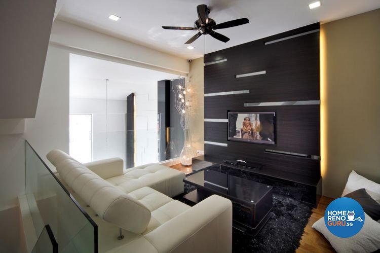 Contemporary, Modern Design - Entertainment Room - Landed House - Design by HC Interior