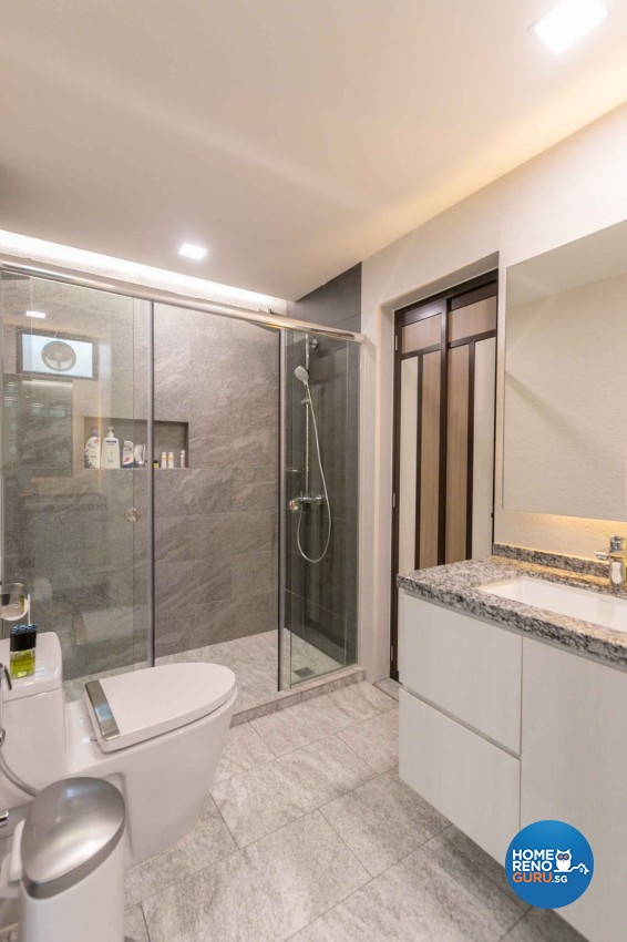 Contemporary Design - Bathroom - Condominium - Design by Home Concepts Interior & Design Pte Ltd