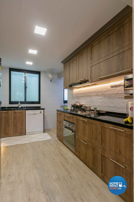 Contemporary Design - Kitchen - Condominium - Design by Home Concepts Interior & Design Pte Ltd