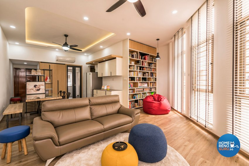 Contemporary, Modern Design - Living Room - Condominium - Design by Home Concepts Interior & Design Pte Ltd