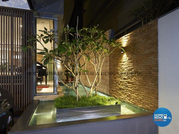 Contemporary, Modern Design - Garden - Landed House - Design by Home Concepts Interior & Design Pte Ltd