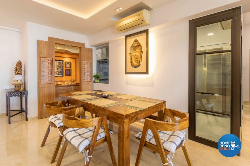 Contemporary, Modern Design - Dining Room - HDB 5 Room - Design by Home Concepts Interior & Design Pte Ltd