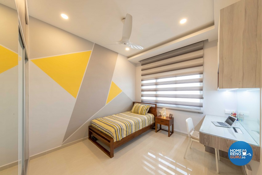 Contemporary, Modern Design - Bedroom - HDB 5 Room - Design by Home Concepts Interior & Design Pte Ltd