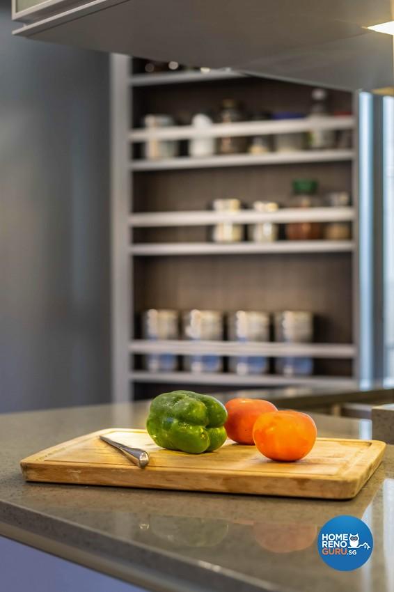 Contemporary, Modern Design - Kitchen - HDB 5 Room - Design by Home Concepts Interior & Design Pte Ltd