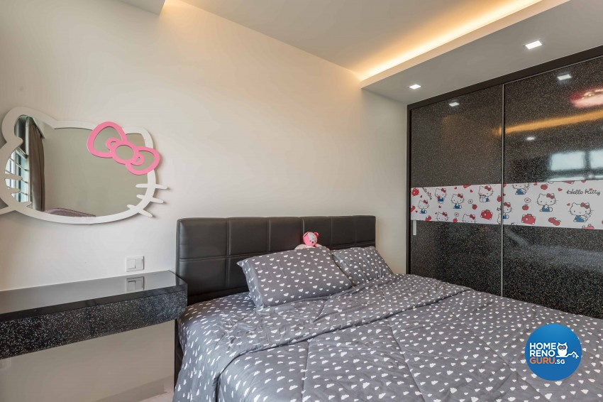Classical, Contemporary Design - Bedroom - HDB 4 Room - Design by Home Concepts Interior & Design Pte Ltd