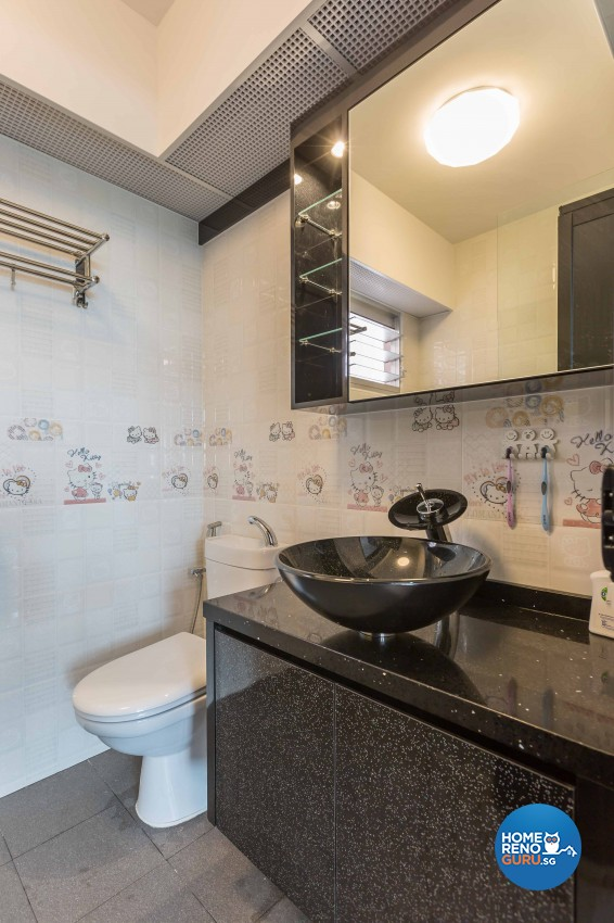 Classical, Contemporary Design - Bathroom - HDB 4 Room - Design by Home Concepts Interior & Design Pte Ltd