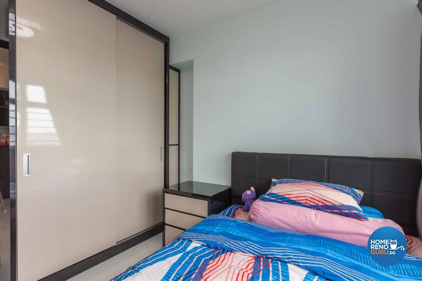 Classical, Contemporary Design - Bedroom - HDB 4 Room - Design by Home Concepts Interior & Design Pte Ltd
