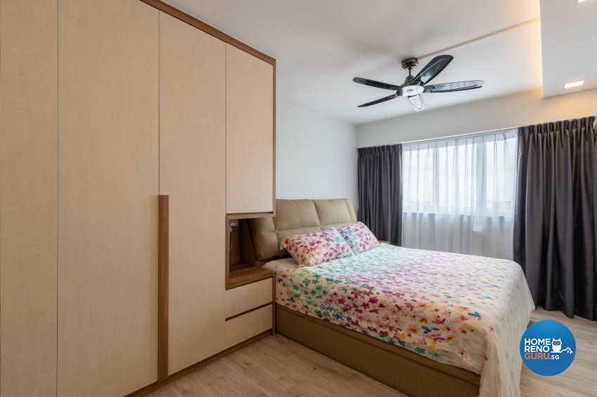 Modern, Scandinavian Design - Bedroom - HDB 4 Room - Design by Home Concepts Interior & Design Pte Ltd