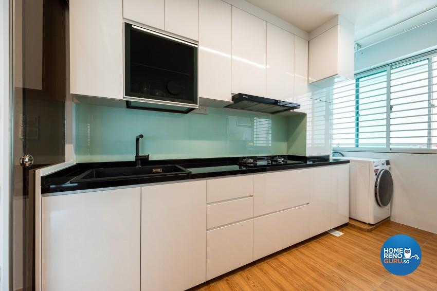 Minimalist, Modern, Scandinavian Design - Dining Room - HDB 4 Room - Design by Home Concepts Interior & Design Pte Ltd