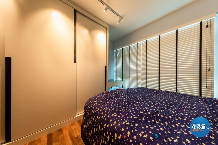 Minimalist, Modern, Scandinavian Design - Bedroom - HDB 4 Room - Design by Home Concepts Interior & Design Pte Ltd