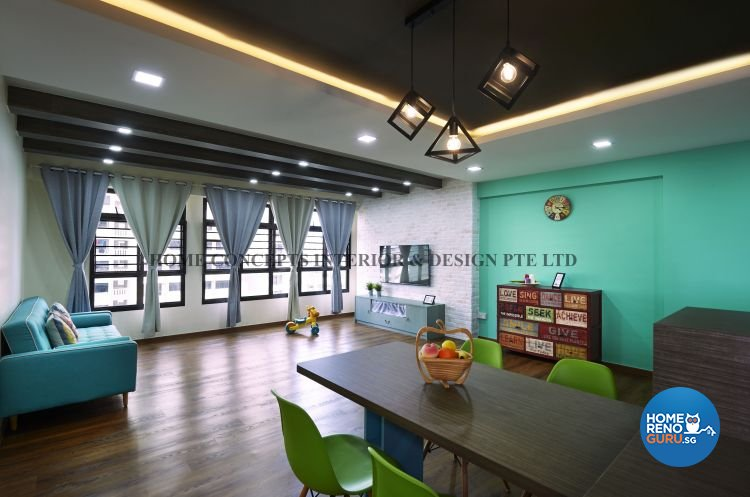 Home Concepts Interior & Design Pte Ltd-HDB 5-Room package