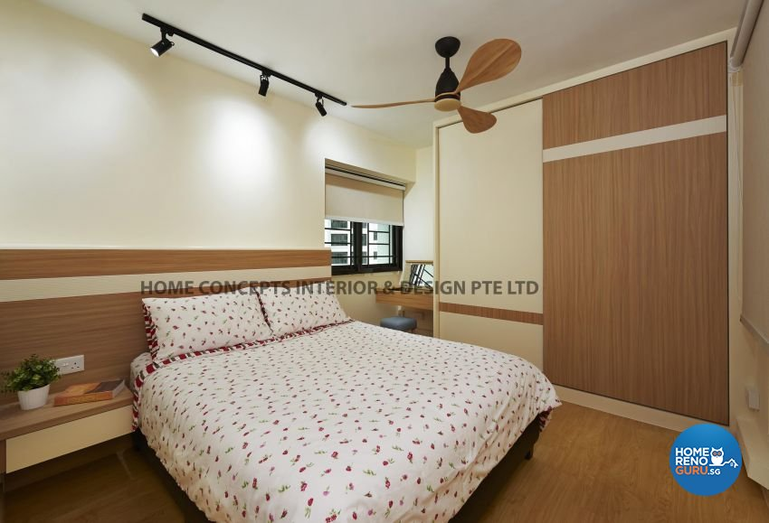 Modern Design - Bedroom - HDB 5 Room - Design by Home Concepts Interior & Design Pte Ltd