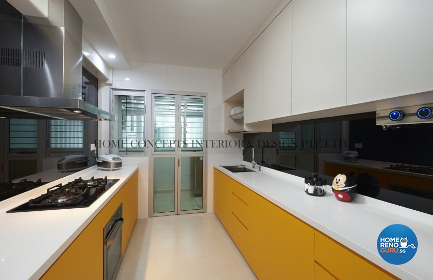 Classical, Contemporary Design - Kitchen - HDB 5 Room - Design by Home Concepts Interior & Design Pte Ltd
