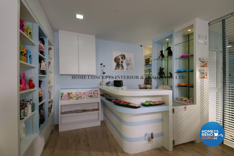 Contemporary, Modern Design - Commercial - Retail - Design by Home Concepts Interior & Design Pte Ltd