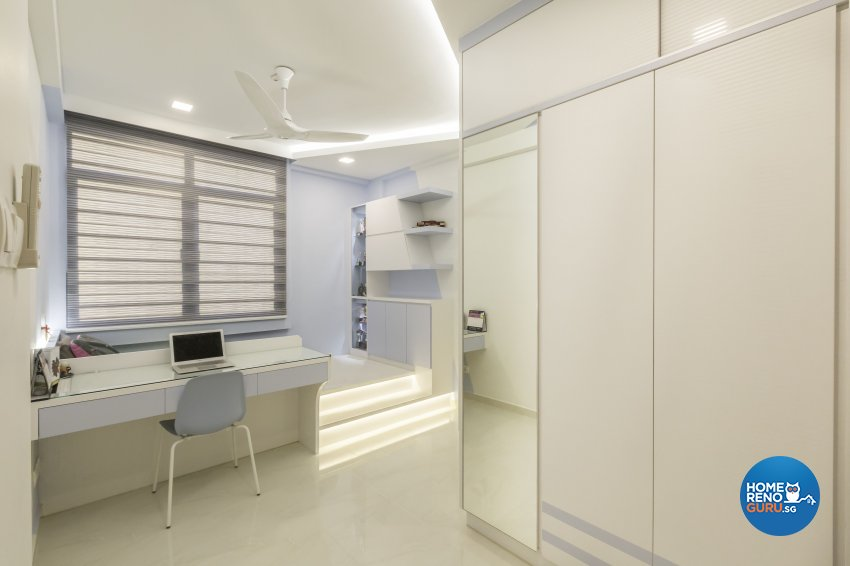 Contemporary Design - Study Room - Condominium - Design by Home Concepts Interior & Design Pte Ltd