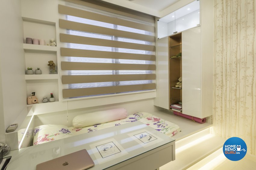 Contemporary Design - Bedroom - Condominium - Design by Home Concepts Interior & Design Pte Ltd