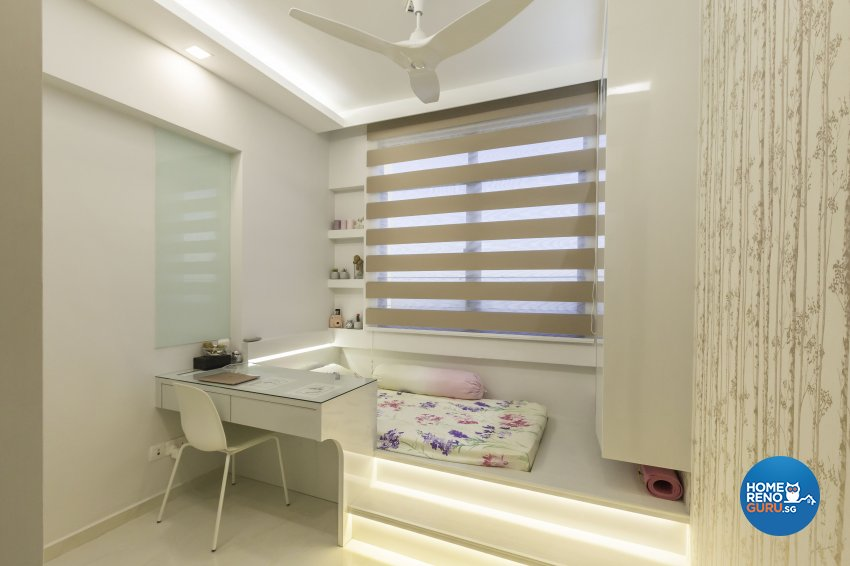 Contemporary Design - Bedroom - Condominium - Design by Home Concepts Interior & Design Pte Ltd