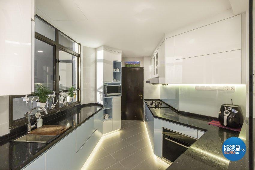 Contemporary Design - Kitchen - Condominium - Design by Home Concepts Interior & Design Pte Ltd