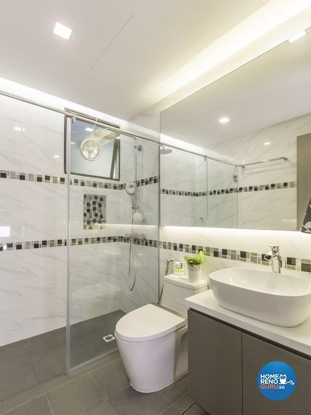 Contemporary Design - Bathroom - Condominium - Design by Home Concepts Interior & Design Pte Ltd