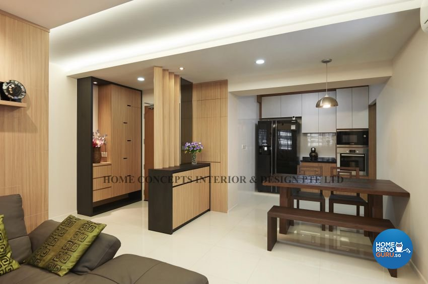 Classical, Contemporary, Modern, Resort Design - Dining Room - HDB 5 Room - Design by Home Concepts Interior & Design Pte Ltd