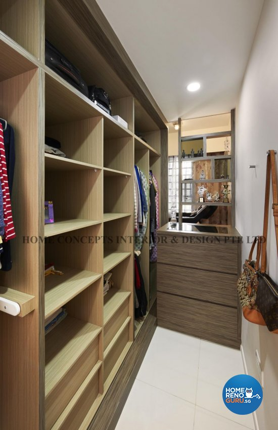 Classical, Contemporary, Modern, Resort Design - Bedroom - HDB 5 Room - Design by Home Concepts Interior & Design Pte Ltd