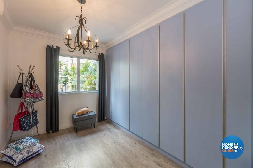 Modern Design - Bedroom - HDB 4 Room - Design by Home Concepts Interior & Design Pte Ltd