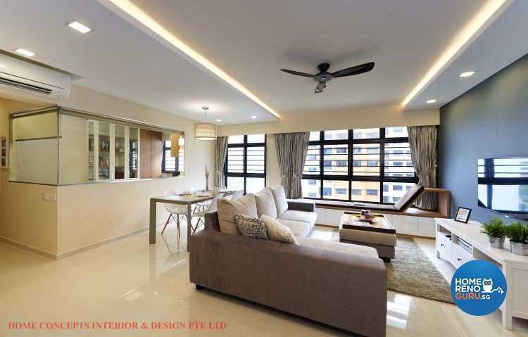 Contemporary, Minimalist, Scandinavian Design - Dining Room - HDB 5 Room - Design by Home Concepts Interior & Design Pte Ltd