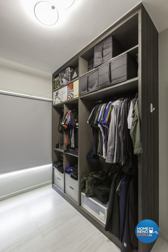 Modern, Scandinavian Design - Bedroom - HDB 5 Room - Design by Home Concepts Interior & Design Pte Ltd
