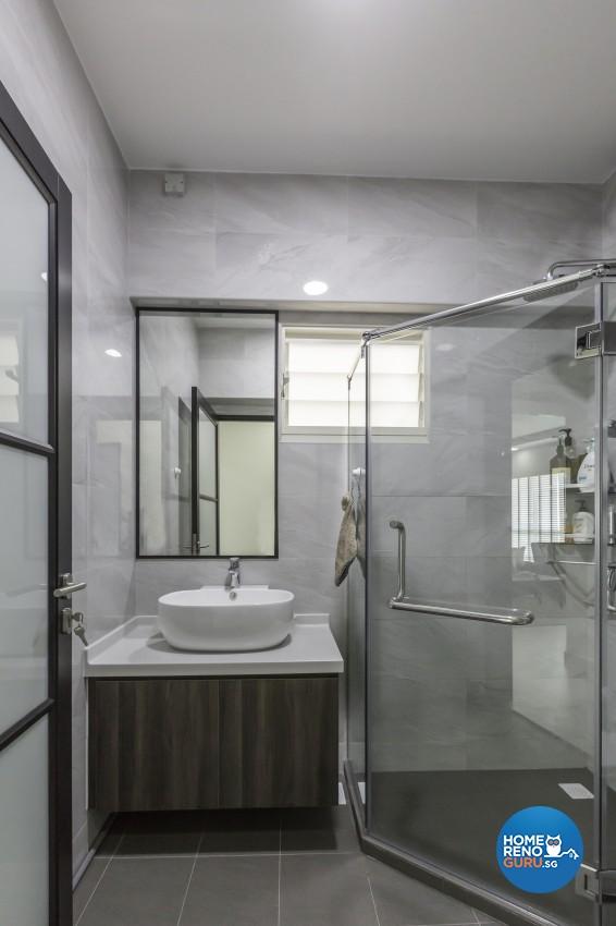 Modern, Scandinavian Design - Bathroom - HDB 5 Room - Design by Home Concepts Interior & Design Pte Ltd
