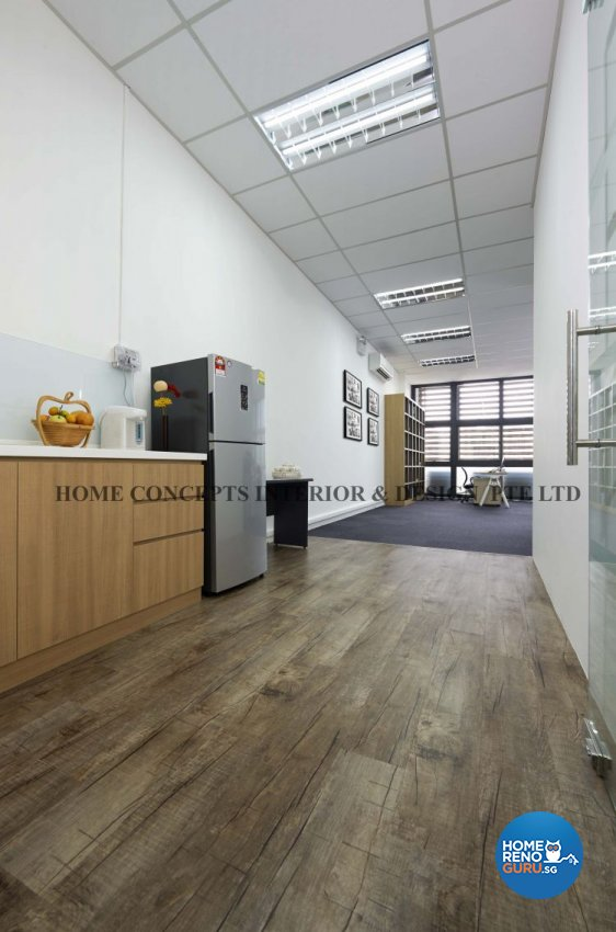 Contemporary, Modern Design - Commercial - Office - Design by Home Concepts Interior & Design Pte Ltd