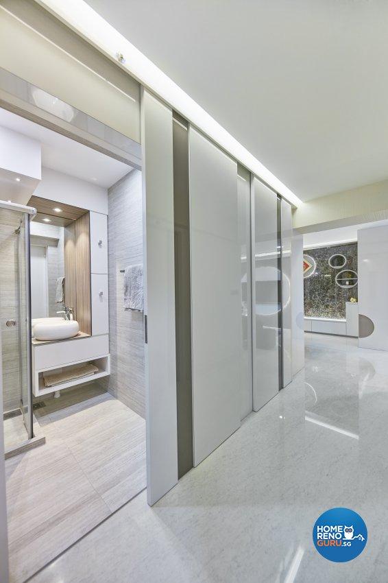 Contemporary, Modern Design - Living Room - HDB 4 Room - Design by Home Design Base
