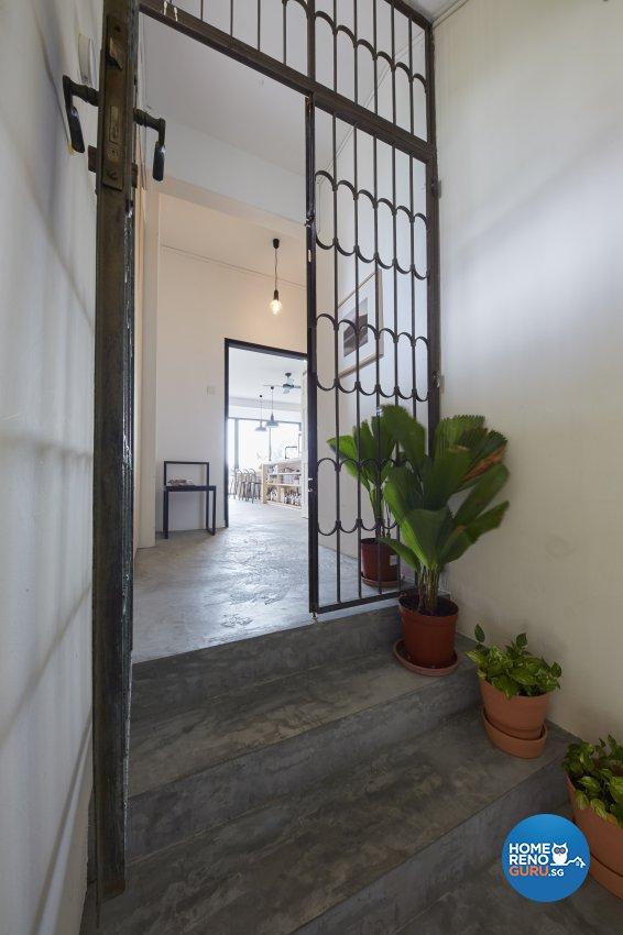 Industrial Design - Living Room - Condominium - Design by Home Design Base
