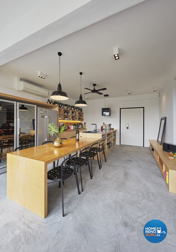 Industrial Design - Kitchen - Condominium - Design by Home Design Base