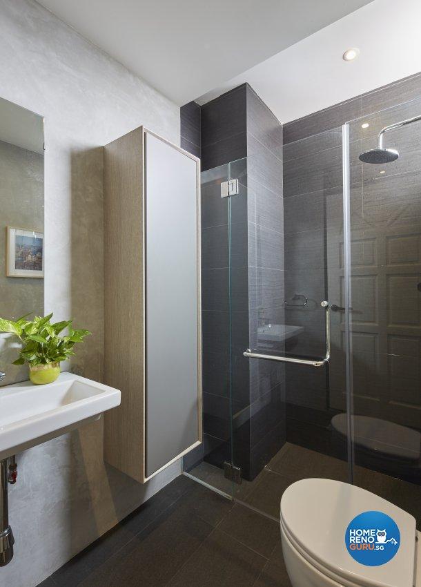 Industrial Design - Bathroom - Condominium - Design by Home Design Base