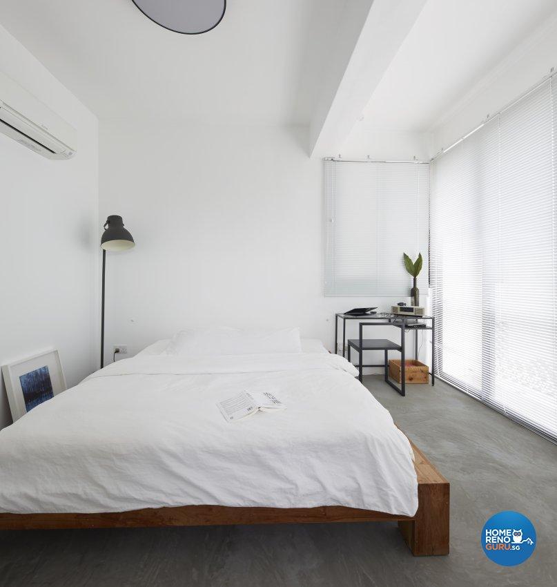 Industrial Design - Bedroom - Condominium - Design by Home Design Base