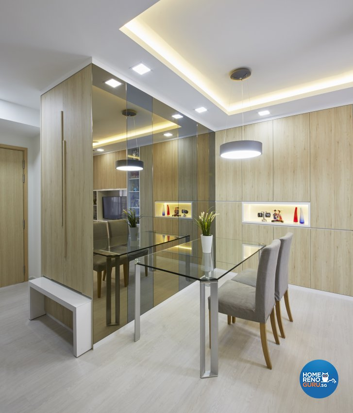 Contemporary Design - Dining Room - Condominium - Design by Home Design Base