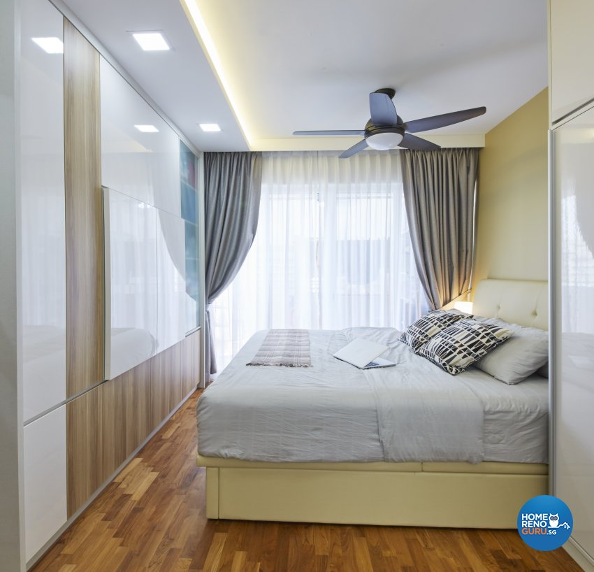 Contemporary Design - Bedroom - Condominium - Design by Home Design Base