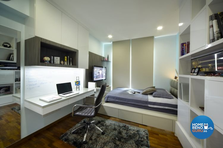 Contemporary, Modern Design - Bedroom - Condominium - Design by Home Design Base