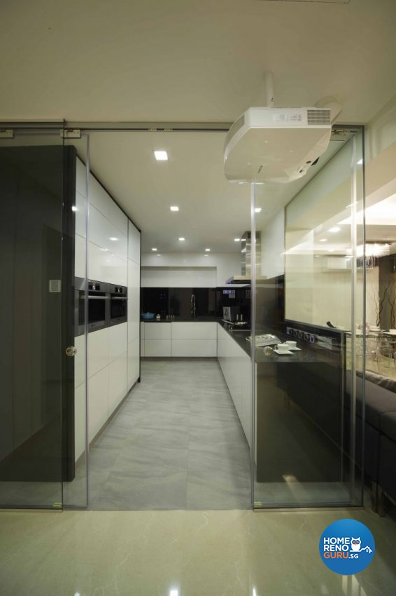 Minimalist, Modern Design - Kitchen - HDB 5 Room - Design by Home Design Base