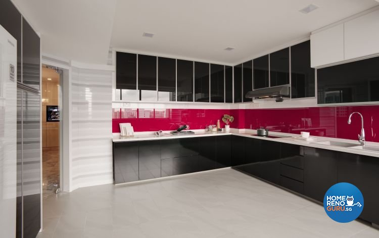 Contemporary, Modern Design - Kitchen - Condominium - Design by Home Design Base