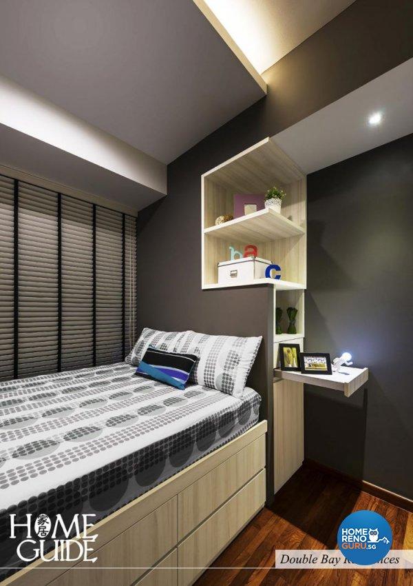 Contemporary, Modern Design - Bedroom - Condominium - Design by Home Guide Design & Contracts Pte Ltd