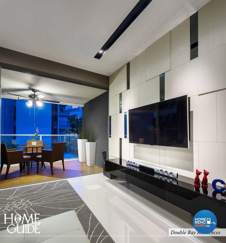 Contemporary, Modern Design - Living Room - Condominium - Design by Home Guide Design & Contracts Pte Ltd