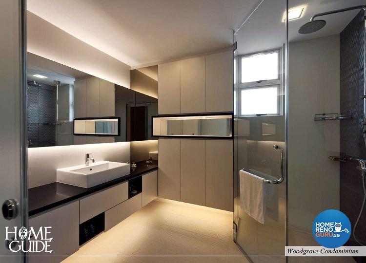 Contemporary, Modern Design - Bathroom - Condominium - Design by Home Guide Design & Contracts Pte Ltd