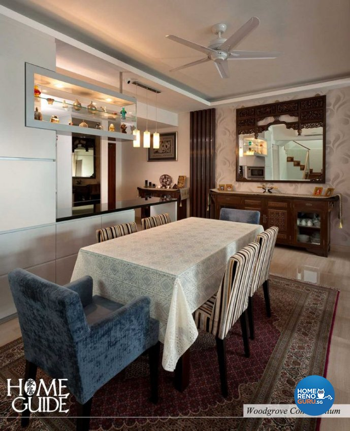 Contemporary, Modern Design - Dining Room - Condominium - Design by Home Guide Design & Contracts Pte Ltd