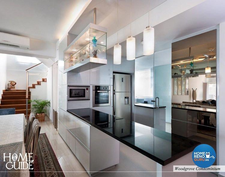 Contemporary, Modern Design - Kitchen - Condominium - Design by Home Guide Design & Contracts Pte Ltd