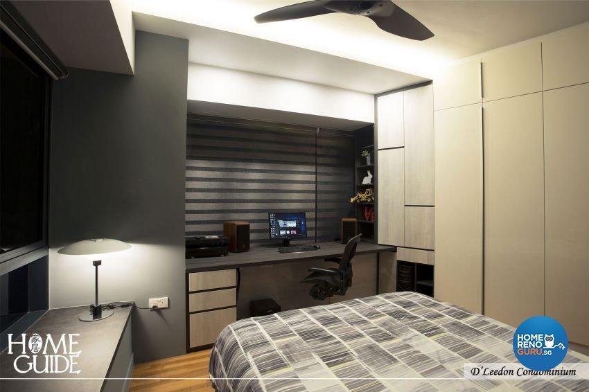 Contemporary, Rustic Design - Bedroom - Condominium - Design by Home Guide Design & Contracts Pte Ltd