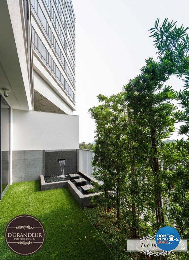 Contemporary, Modern Design - Balcony - Condominium - Design by Home Guide Design & Contracts Pte Ltd
