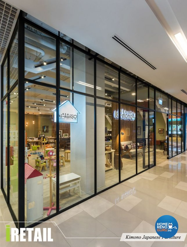 Contemporary, Modern Design - Commercial - Retail - Design by Home Guide Design & Contracts Pte Ltd