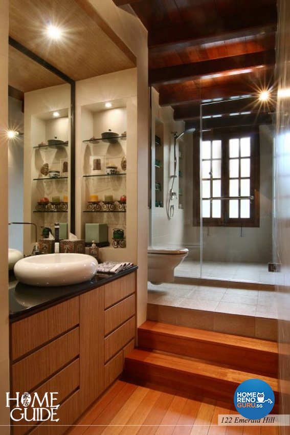 Contemporary, Modern Design - Bathroom - Landed House - Design by Home Guide Design & Contracts Pte Ltd